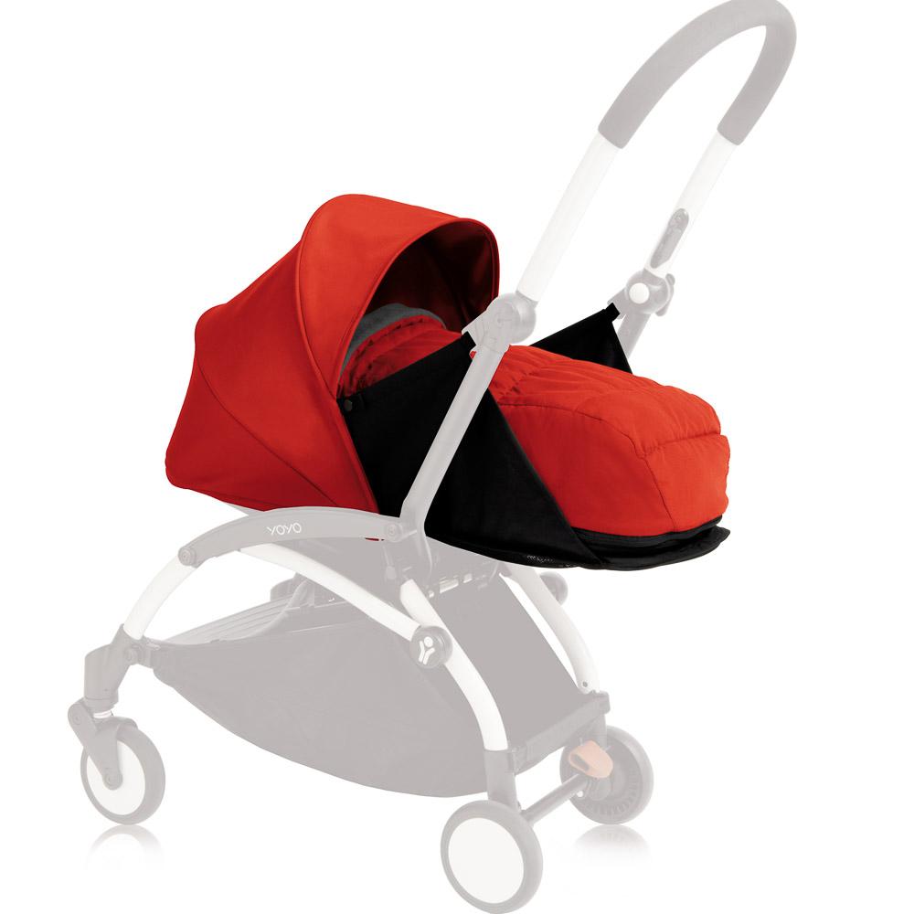 2E Babyzen YOYO+ 0+ Fußsack in Red