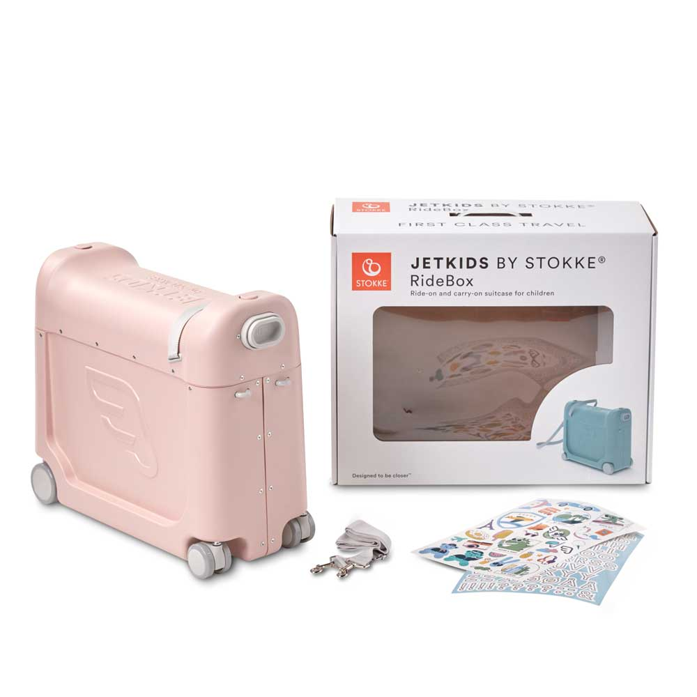 2E Jetkids RideBox Pink Verpackung
